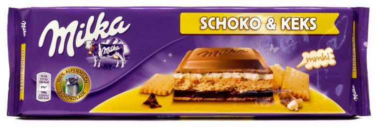 Milka Schoko & Keks 300 g