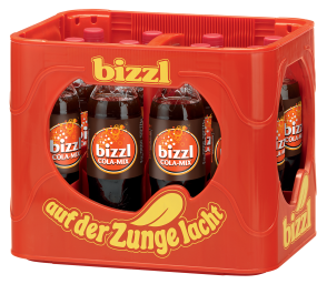 Foto Bizzl Cola Mix Kasten 12 x 1 l PET Mehrweg