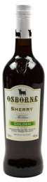 Foto Osborne Sherry-Golden 0,75 l Glas