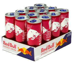 Foto Red Bull The Summer Edition Pink Grapefruit Ruby Karton 12 x 0,25 l Dose Einweg