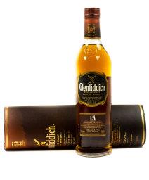 Glenfiddich Single Malt Whiskey 15 Jahre Geschenkdose 0,7 l
