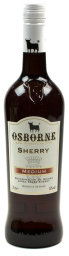Foto Osborne Sherry Medium 0,75 l Glas