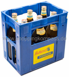 Possmann Speierling Frau Rauscher Apfelwein Kasten 6 x 1 l Glas MW