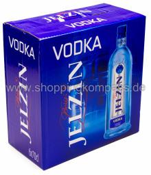 Boris Jelzin Vodka Karton 6 x 0,7 l