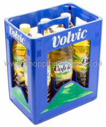 Volvic Grüner Tee Zitrone Kasten 6 x 1,5 l PET EW