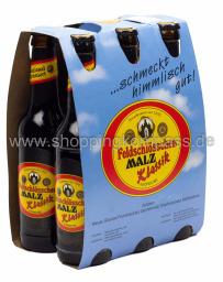 Feldschlösschen Malz alkoholfrei 6 x 0,33 l Glas MW