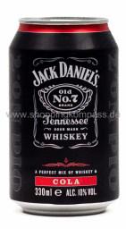 Jack Daniel's & Cola 0,33 l Dose EW