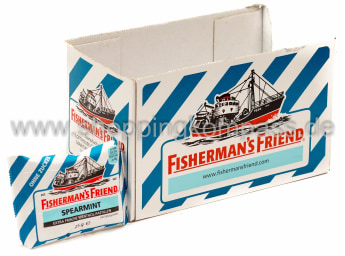Foto Fisherman's Friend Frische Spearmint Karton 24 x 25 g