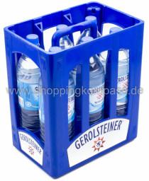 Gerolsteiner Mineralwasser Naturell Kasten 6 x 1,5 l PET MW