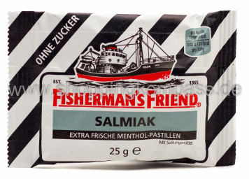 Foto Fisherman's Friend Salmiak 25 g