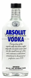 Foto Absolut Vodka Imported 0,7 l