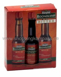 Burghof Boonekamp Bitter Karton 3 x 0,2 l