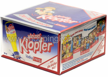 Foto Kleiner Klopfer Energy Vodka Karton 25 x 20 ml