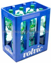 Volvic Mineralwasser leichtperlig Kasten 6 x 1,5 l PET EW