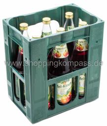 Waldberg Apfel-Kirsch Saft Kasten 6 x 1 l Glas MW