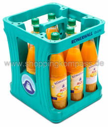 Römerwall ACE Orange Karotte Kasten 12 x 0,75 l PET Mehrweg