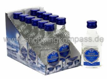 Wodka Gorbatschow Karton 12 x 0,1 l