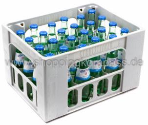 Gerolsteiner Mineralwasser Naturell Kasten 24 x 0,25 l Glas MW