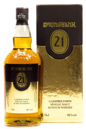 Foto Springbank Campbeltown Single Malt Scotch Whisky 21 years 0,7 l