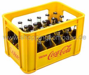 Coca Cola Zero Kasten 24 x 0,2 l Glas MW