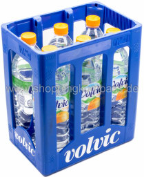 Foto Volvic Orange Kasten 6 x 1,5 l PET Einweg