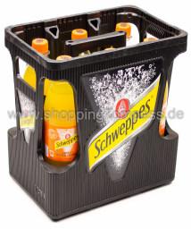 Schweppes Bitter Orange Kasten 6 x 1 l PET MW