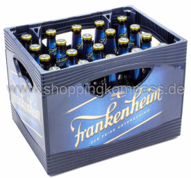 Frankenheim Alt Kasten 20 x 0,5 l Glas MW