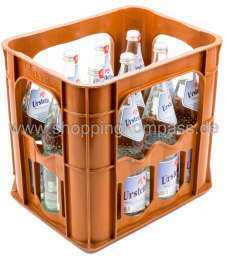 Ursteiner Mineralwasser Kasten 12 x 0,7 l Glas MW