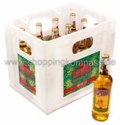 Desperados Tequila Bier Kasten 12 x 0,65 l Glas MW
