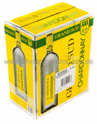 Chardonnay Grand Sud Blanc Karton 6 x 1 l