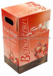 Berentzen Fruchtige Rhabarber Erdbeere Karton 6 x 0,7 l Glas