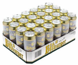 Bitburger Pils Karton 24 x 0,5 l Dose EW