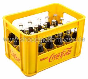 Coca Cola Light Kasten 24 x 0,2 l Glas MW