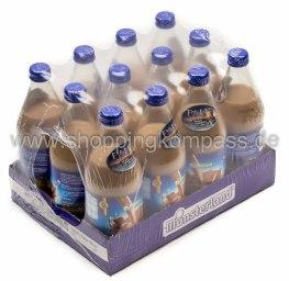 Münsterland Classico Kakao-Drink Karton 12 x 0,5 l Glas