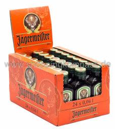 Jägermeister Karton 24 x 0,04 l