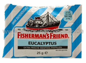 Foto Fisherman's Friend Eucalyptus 25 g