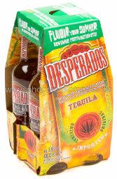 Desperados Tequila Bier 4 x 0,33 l Glas MW