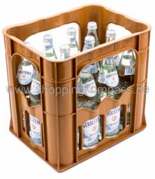 Gerolsteiner Mineralwasser Sprudel Kasten 12 x 0,7 l Glas MW