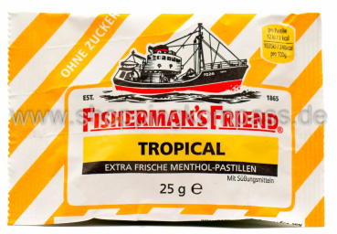 Foto Fisherman's Friend Frische Tropical Pastillen 25 g
