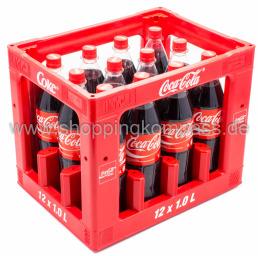 Coca Cola Kasten 12 x 1 l PET MW