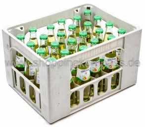 Gerolsteiner Apfelschorle Kasten 24 x 0,25 l Glas MW