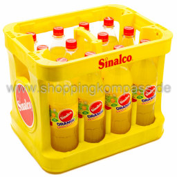 Foto Sinalco Orange Kasten 12 x 1 l PET Mehrweg