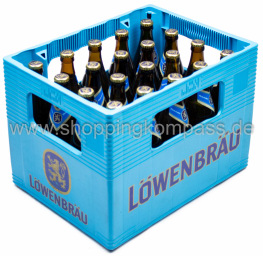 Löwenbräu Oktoberfestbier Kasten 20 x 0,5 l Glas MW