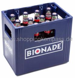 Bionade Holunder Kasten 12 x 0,33 l Glas MW