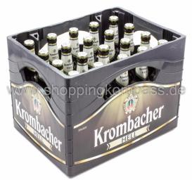 Krombacher Hell Kasten 20 x 0,5 l Glas MW