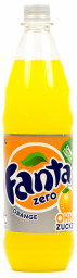 Fanta Orange Zero 1 l PET Mehrweg