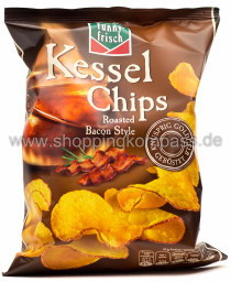 Funny-Frisch Kessel Chips Roasted Bacon Style 175 g
