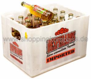 Desperados Tequila Bier Kasten 24 x 0,33 l Glas MW