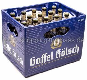 Gaffel Kölsch Kasten 20 x 0,5 l Glas MW