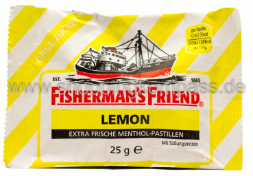 Foto Fisherman's Friend Frische Lemon Pastillen 25 g